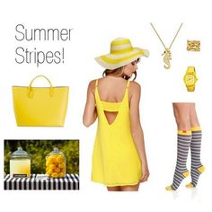 Welcome in this gorgeous summer weather in these cute @vimvigr compression socks available in two compression levels!   #vimvigr #polyvore #stripesonstripes #summerishere #compression #compressionsocks #traveltips #floppyhat #fashiondiaries #yellow #dress #socks #fashionblogger #mylook #ootd #fashionstyle #sunshine #whatiwore #summerdress #fashionista #sundress #jewelry #fashiongram #whattowear