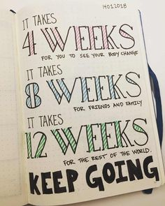 amazing examples of weight loss inspiration in your Bullet journal. We go through different types of fitness trackers, workout trackers, exercise trackers, weight loss dashboards and more. These can easily go into your Bullet journal or into your happy Bullet Journal For Weight Loss, Bullet Journal Workout, Bullet Journal Writing, Fitness Journal, Bullet Journal Ideas Pages, Bullet Journal Layout, Bullet Journal Health, Goal Journal, Beginner Bullet Journal