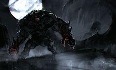 Monster Batman by Ivan Kashubo