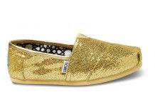 Gold Women's Glitters #toms FINALLY these are back....so using these a  neutral