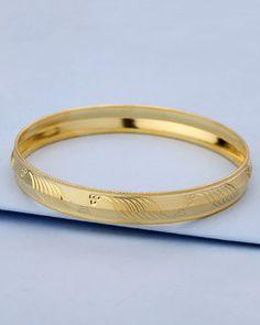 24 Best Gold Punjabi Kada For Mens Images Gold Gold Bracelet