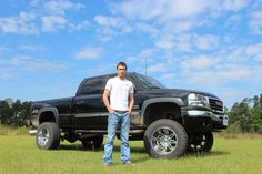 Guy with truck Truck Senior Pictures, Male Senior Pictures, Senior Photos, Picture Ideas, Photo Ideas, Senior Boys, Baby Steps, Fall Photos, Handsome Boys