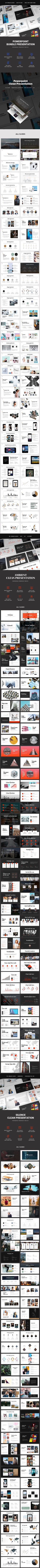 3 Awesome Powerpoint Templates #infographics #elegant • Download ➝ https://graphicriver.net/item/bundle-powerpoint-3-in-1/19910471?ref=pxcr