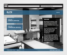 Elite Services brochure style website