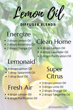 Purification Essential Oil, Essential Oils Guide, Lime Essential Oil, Essential Oils Cleaning, Essential Oil Diffuser Blends, Spearmint Essential Oil, Essential Oil Combinations, Lemon Oil, Diffuser Recipes