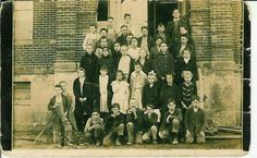 Wyandottes at Seneca School
