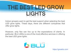 led-grow-lights by via Slideshare Indoor Garden, Indoor Plants, Best Led Grow Lights, Lighting Online, How To Get, Healthy Recipes, Actors, Website, Live