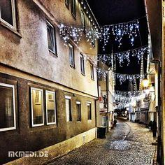 Markus Medinger Picture of the Day   Bild des Tages 16.12.2015   www.mkmedi.de #mkmedi  #365picture #365DailyPicture #pictureoftheday #bilddestages 168/365 #landscape  #weihnachtsbeleuchtung  #beinacht #gasse #weihnachten #christmaslights #atnight #alley #xmas #christmas  #marktplatz #winnenden #rems #murr #badenwuerttemberg #germany #deutschland #europa #srs_germany #srs_buildings  @badenwuerttemberg @visitbawu