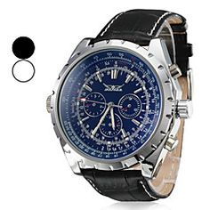 Men's Watch Auto-Mechanical Dress Watch Calendar Leather Band. Get unbeatable discount up to 60% Off at Light in the Boxs with Coupon and Promo Codes.