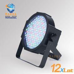 580.00$  Watch now - http://ali00o.worldwells.pw/go.php?t=1221110197 - 12X lot Free Shipping New 201 5 Jelly par/uplight RGBA/RGBW 144*10MM Par 64-Mega Par 64 580.00$
