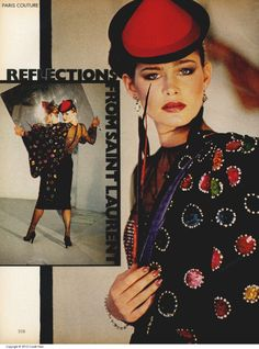 Fashion by Yves Saint Laurent inVogue,October 1978