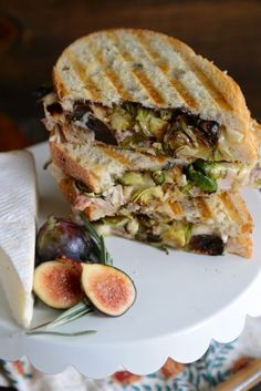 ... fig rosemary roast chicken Brie panini is one for the ages!! And OMG