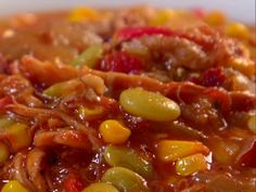 Brunswick Stew recipe from Jamie Deen via Food Network