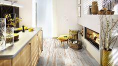 Wineo Vinyl Ambra Wood zum klicken Long Island Pine 1-Stab Landhausdiele gefaste Kante