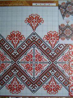 Ukrainian Cross stitch Embroidery Pattern for Gift: Towel - Rusnyk, Napkin, Tablecloth. Languages : Ukrainian.   eBay!