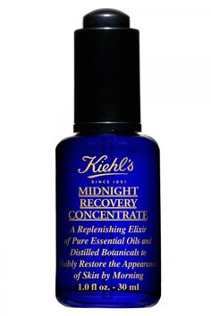 Buy Kiehl's Midnight Recovery Concentrate, £36 - Overnight oil for clearer supple skin - Love Tanya Burr Book - top 10 skincare
