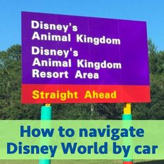 Using a Car at Disney World - If you plan on driving (or are thinking about driving) on your next WDW vacation, we have some tips & suggestions to make it easy - What roads to take, parking + more!