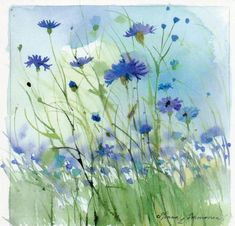 Minna Immonen - lovely watercolor                                                                                                                                                                                 More