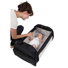 """Couffin nomade """"Simple Bed"""" & sac à langer BABYSUN"""