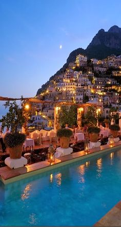 Could be the view from our hotel room on The beautiful Amalfi Coast in Campania, Italy (*don't mind me this is my 'dream tour' to Italy page*)