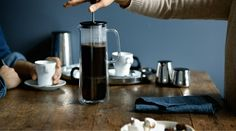Wmf, French Press, Diy Kitchen, Coffee Time, Coffee Maker, Kitchen Appliances, Stainless Steel, Design, Beauty