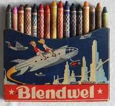 Blendwel crayons