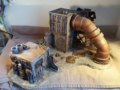 Necromunda, Inquisimunda, Inq28, Inquisitor, underhive scenery