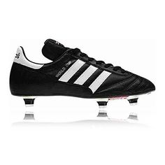Adidas World Cup Soft Ground Classic Mens Black Football Studs Boots Shoes 2fdd554f3318d