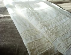 Bath linen towel natural linen spa towel organic linen by Luxoteks