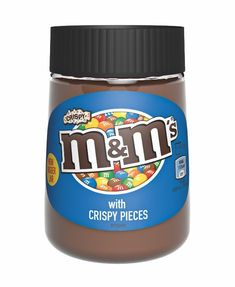 M&M's lança seu creme de avelã para concorrer com Nutella - Chocolate Spread, Like Chocolate, Chocolate Hazelnut, Chocolate Milkshake, Nutella, Gourmet Recipes, New Recipes, Sweet Recipes, Peanut Candy
