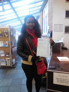 MAYP - Leah receiving her Arts Awards Bronze Certificate as a result of her participation in the Summer programme MAYP. Well done to her! London Metropolitan, Arts Award, Certificate, Awards, Bronze, Play, Watch, Summer
