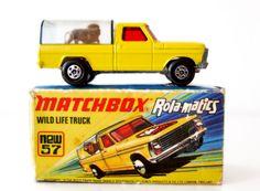 FORD WILD LIFE TRUCK (Matchbox - Lesney)