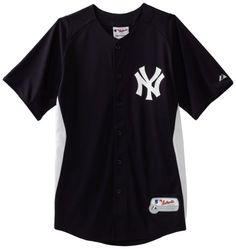 MLB New York Yankees Authentic Cool Base Batting Practice Jersey, Yankee Navy/White Majestic. $44.95