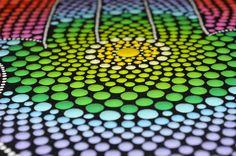 Dot Art Mystic Mandala