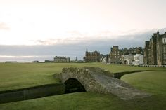 The Old Course, St. Andrew's, Scotland - I was lucky enough to visit here in May 2011.