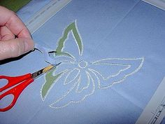 How to Create Machine Embroidery Cutwork - Step-By-Step Guide