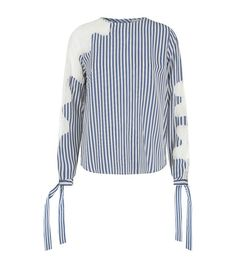 Robert Rodriguez Lace Insert Striped Blouse available to buy at Harrods.Shop clothing online and earn Rewards points.