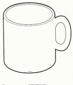 ... Mug Outline , Coffee Mug Clipart , Hot Chocolate Mug Coloring Page