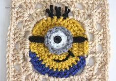 Delicadezas en crochet Gabriela: Tutorial minion en granny
