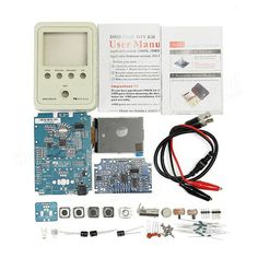 Update Version: (From June in CN warehouse, from July in US warehouse)DSO Shell Oscilloscope DIY DSO Shell has similar bandwit Diy Electronic Kits, Electric Bike Kits, Black Pearl Ship, Open Source Code, Kit Diy, Emergency Survival Kit, Measuring Instrument, Boat Kits, 3d Printer Supplies