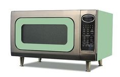 vintage microwave design