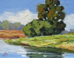TOM BROWN ORIGINAL 8x10 OIL PAINTING, SUMMER STUDIO SALE CONTINUES, painting by artist Tom Brown
