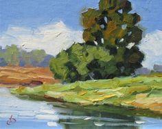 TOM BROWN ORIGINAL 8x10 OIL PAINTING, SUMMER STUDIO SALE CONTINUES, painting by artist Tom Brown