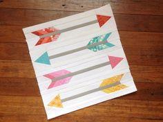 Arrow in Flight Paper Pieced Pattern