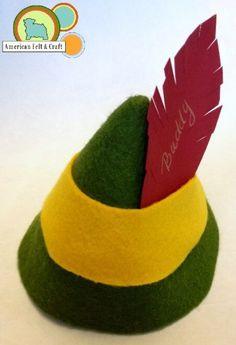 Buddy the Elf Hats! This is definitely happening next year @Deanna Sosalla @Ashleigh Krawll