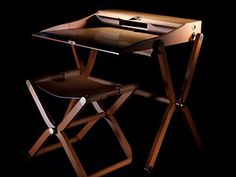 Hermes portable writing desk. Picture: Nick Cubbin