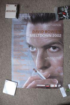 David Bowie Bowie s Meltdown 2002 poster RFH