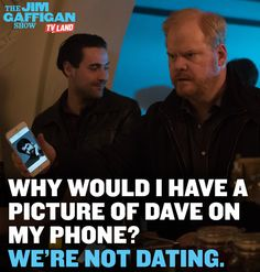 So instead of being creeped out, watch THE JIM GAFFIGAN SHOW starring Jim Gaffigan. Series premieres on July 15, 2015 at 10/9C on TV Land. Click to watch a sneak preview.
