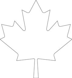 View and download Canada Day maple leaf template.pdf on DocDroid