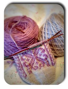 I will finish these!  Norwegian Rose Socks by Wendy D. Johnson